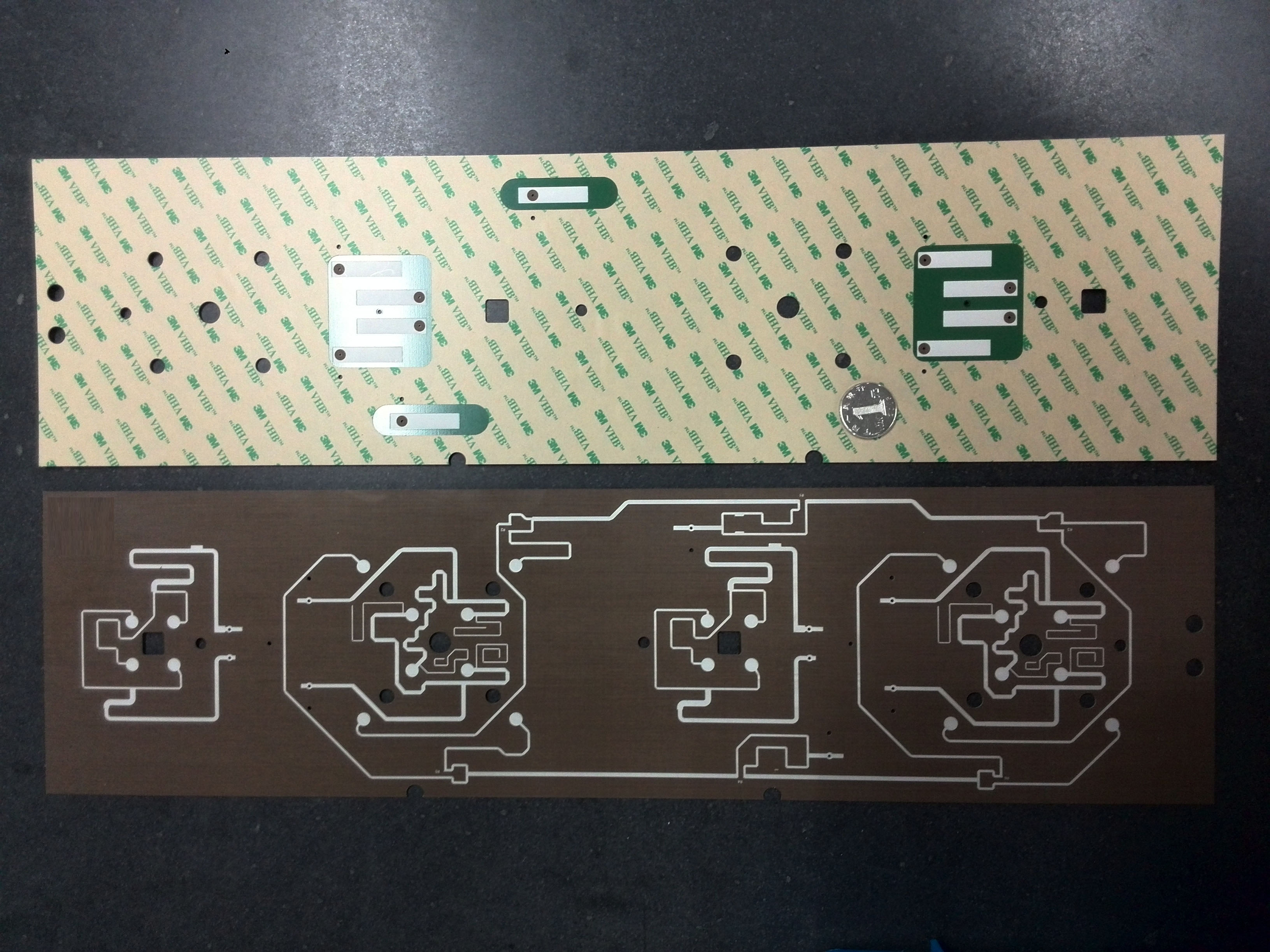 Double Side PTFE board with PSA Tape